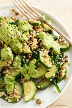 Green Powerhouse Pesto Plate