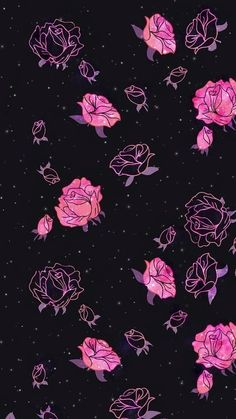 16 ideas iphone wallpaper pattern pink backgrounds flower for 2019 Tumblr Wallpaper, Gothic Wallpaper, Wallpaper Space, Pink Wallpaper Iphone, Trendy Wallpaper, Cute Wallpaper Backgrounds, Love Wallpaper, Pretty Wallpapers, Cellphone Wallpaper