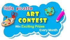 Concurso mensual para artistas.