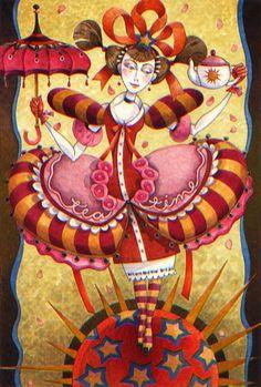 Tea Maiden ~ David Galchutt