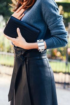 Bracelet and colors are fine. No leather skirts please.   Minimal + Chic | @codeplusform