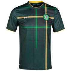 Celtic FC away jersey for 2014-15.  Who knew tartan could be cool?