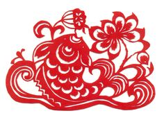 chinese papercuts (well viets do it too) - possible inspiration? Paper Cutting Patterns, Paper Cutting Templates, Chinese Arts And Crafts, Paper Art, Paper Crafts, Cut Paper, Chinese Paper Cutting, Chinese Culture, Art Google