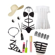Summer 2015 outfit by xxfrozengirlxx on Polyvore featuring polyvore fashion style Anjuna Lipsy Gianvito Rossi Monsoon Footnotes Too River Island Topshop Isaac Mizrahi Maybelline