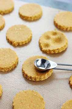These easy homemade pumpkin dog treats are the perfect way to spoil your furry friends! Dog Cookie Recipes, Homemade Dog Cookies, Dog Biscuit Recipes, Homemade Dog Food, Dog Treat Recipes, Healthy Dog Treats, Dog Food Recipes, Pumpkin Dog Treats, Dog Pumpkin