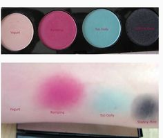 """TOO DOLLY"" eyeshadow palette from MAC's LE ""HELLO KITTY collection:"
