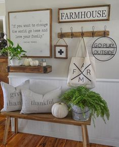 rustic #decor for the modern #farmhouse home.