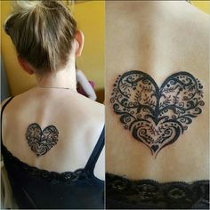 Heart Tattoo back