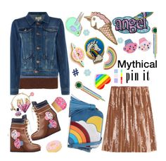 """🎀 #612 Mythical   #pins"" by wonderful-paradisaical ❤ liked on Polyvore featuring Linea Weekend, Anya Hindmarch, Emilio Pucci, Big Bud Press, Elizabeth Raine, Georgia Perry, Sunnylife, Juicy Couture, Iscream and Design Lab"