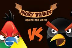 Angry brands (parody)