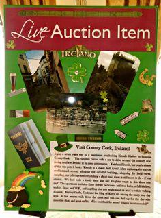 70 Best Live Auction Package Ideas Images In 2019