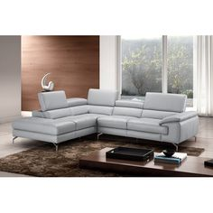 Found it at Wayfair - Olivia Premium Leather Sectional