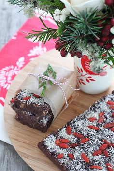 Raw Chocolate Holiday Fudge