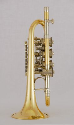 Trumpet with rotary valves