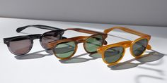 Sheldrake Sun: Inspired by Andy Warhol, this iconic sunglass is a bold, intellectual design offering timeless style.