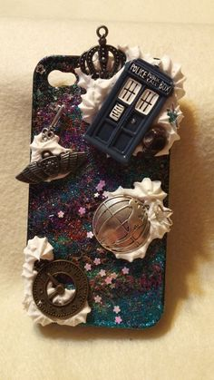 Custom Dr. Who inspired I phone 5 case by Fangirl505 on Etsy
