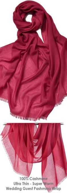 Burgundy Women's 100% Cashmere Ultra Thin Super Soft Warm Long Large Pashmina Scarf Scarves Shawl Wrap. Available lot's of Colours. Perfect Ladies cover up for a spring wedding guest or Mother of the Bride, day at the Races, Royal Ascot, Epsom Derby or Grand National. #cashmere #pashmina #coverup #wraps #weddingguest #springwedding #shawl #fashion #fashionista #motherofthebride #affiliatelink #ootd