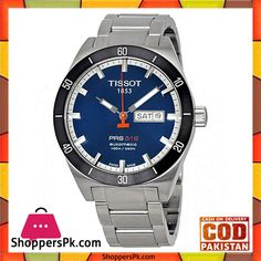 a4d15e5957c Buy Tissot PRS 516 Blue Day-Date Watch (Model No. T044.430.21.041.00) at  Best Price in Pakistan