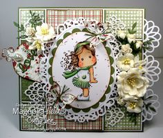 New card using Magnolia Stamps from Magnolia-licious magnoliastamps.us/ by Cathy…