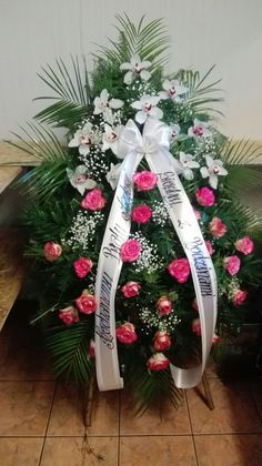 Funeral Flower Arrangements, Funeral Flowers, Christmas Wreaths, Christmas Tree, Holiday Decor, Shop, Lady Of Lourdes, Fitness Abs, Grief