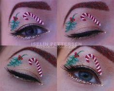 Creative Christmas Party Or Fantasy Eye Make Up Ideas Looks X mas Eyeshadows 3 Creative Christmas Party Or Fantasy Eye Make Up Ideas & Looks...
