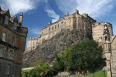 This is the Edinburgh Castle of Edinburgh, Scotland.