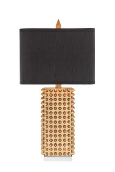 Shop for Catalina Manhattan Square Gold Spiked Table Lamp with Rectangular Faux Silk Shade, Bulb Included. Get free delivery On EVERYTHING* Overstock - Your Online Lamps & Lamp Shades Store! Get in rewards with Club O! Lamp Shade Store, Gold Table, Room Lamp, Square Tables, Modern Spaces, Fabric Shades, Home Decor Outlet, Ceiling Lights, Lighting
