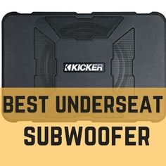 Best Under Seat Subwoofer [Reviews and Comparison] - Gear4Wheels