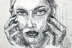 Contour Line Drawing Eye : Pin by kathryn skjei on continuous line drawing pinterest
