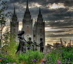 pictures south temple salt lake city | Salt Lake Temple by Sathya 2006