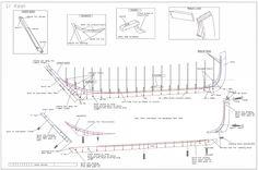 26ft-galway-hooker-pucan-build-1-keel Wood Boat Plans, Wooden Boat Building, Wooden Ship, Wooden Boats, Fishing Boats, Irish, How To Plan, Ships, Camping