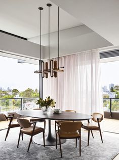 Treetop House by Arent&Pyke - Australian Interior Design Awards Australian Interior Design, Interior Design Awards, Interior Design Studio, Contemporary Interior, Modern Interior Design, Dining Room Curtains, Dining Room Windows, Dining Room Table, Dining Rooms