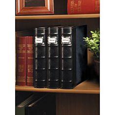 $89 Large CD/ DVD Storage Binder System (Pack Of 6) Labels On Binder
