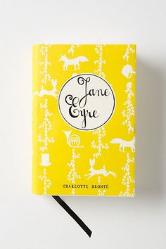 Mr. Boddington's Penguin Classics, Jane Eyre #anthropologie/ 17.99 and the covers are so cute