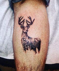 Forest deer  #tattoos #tattoo #tattooed #tattoominsk #tatoo #tats #deertattoo…