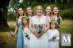Beautiful bridesmaids at Jon & Hannah's wedding.