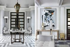 Antiques add drama — and more than a little gravitas — to contemporary interiors. Top talents reveal how they pull off the balancing act.