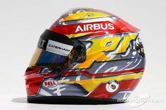 The helmet of Robin Frijns, Caterham Test and Reserve Driver   F1 photos   Main gallery   Motorsport.com