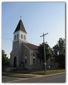Catholic church in Alma, Kansas