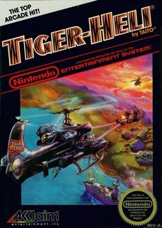 Title: Tiger-Heli (Nintendo NES, UPC: 021481102038 Condition: Pre-owned. Included: Cartridge only. Game Tested and works well - Price sticker on back of cartridge. 80s Video Games, Vintage Video Games, Classic Video Games, Video Game Art, Game Boy, Nes Games, Nintendo Games, Playstation, Ps4