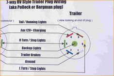 10 best trailer wiring diagram images on pinterest in 2018 trailer rh pinterest com