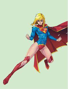 Supergirl by Kenneth Rocafort Supergirl New 52, Supergirl Comic, Comic Book Characters, Comic Books Art, Kal El Superman, Marvel Dc, Marvel Comics, Comic Book Girl, Univers Dc