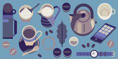 Lyons Coffee - Owen Davey Illustration