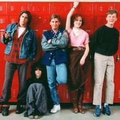 The Breakfast Club (John Hughes, Judd Nelson, Ally Sheedy, Emilio Estevez, Molly Ringwald and Anthony Michael Hall 80s Movies, Great Movies, Movie Tv, 1980s Films, Movie Scene, 1990s, Movies Showing, Movies And Tv Shows, Judd Nelson
