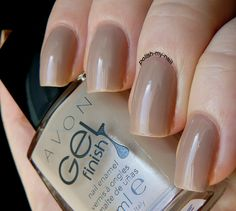 avon gel finish barely there