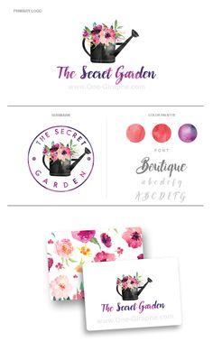 www.One-Giraphe.com #logodesign #graphic #graphicdesign #readymade #logostore #watercolor #watercolorlogo #etsy #pinterest #instagram #behance #dribbble #logopond #affordable #cheap #etsy #seller #logo #feminine #pink #onegiraphe Logo For Sale! onegiraphe@gmail.com http://www.one-giraphe.com/prev.php?c=180 #blog  #flower #flowers #garden #flower