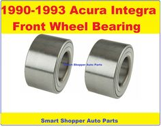 1990-1993 Acura Integra L4 1.8L Front Wheel Bearing A Set of 2 bearings (513241)