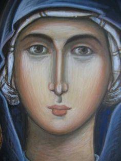 Sveta Petka October 14, Orthodox Icons, Religious Art, Angels, Symbols, Draw, Board, Sacred Art, Painting Art
