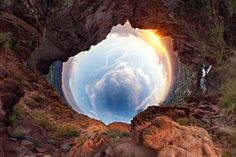 Surreal Panoramic Photography by the talented Randy Scott Slavin - See our full feature at www-dot-StyleNoChaser-com Shadow Photography, Amazing Photography, Art Photography, 360 Degree Photography, Night Photography, Panoramic Photography, Landscape Photography, Gaia, Perspective