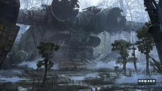 Image result for sci fi environment exterior